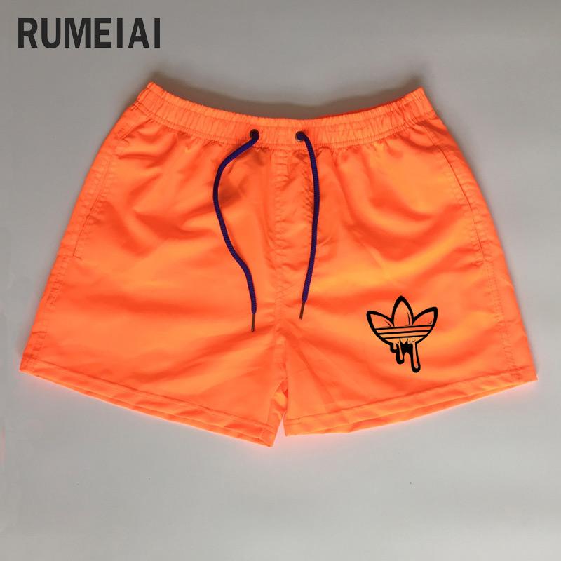 [해외]2018 남자 반바지 캐주얼 반바지 남성 탄성 허리 여름 해변 반바지에 대 한 브랜드 맞춤 인쇄 된 XXXL/2018 New Arrival Men Shorts Casual Shorts For Men Elastic Waist Summer Beach Shorts b