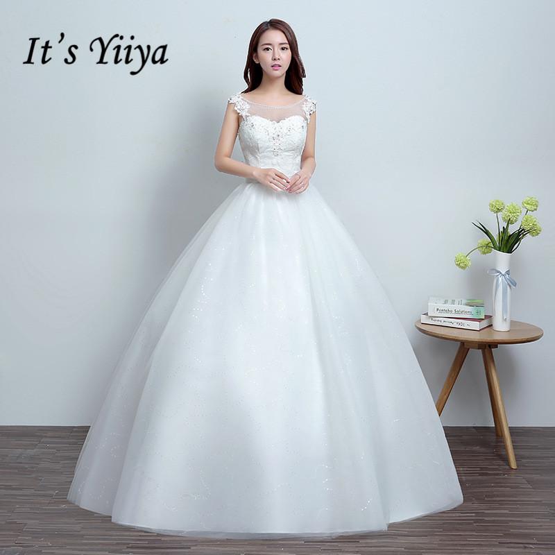 [해외] 진짜 사진 뉴 Tulle 투명 레이스 웨딩 드레스 화이트 저렴한 공주 신부 Frocks 신부 가운 HS673/Free shipping Real Photo New Tulle Transparent Lace Wedding Dresses White Cheap Prin