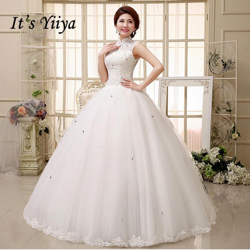 [해외]송료 무료 YiiYa 2016 신품종 흰색 웨딩 드레스 신품종 백색 웨딩 드레스 Vestidos De Novia 레이스 웨딩 드레스 HS348/Free shipping YiiYa 2016 white high quality new red white wedding