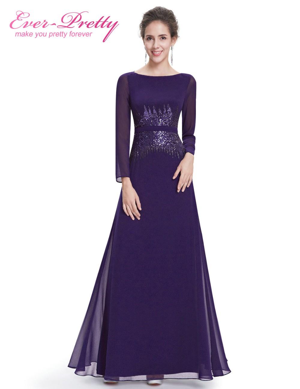 [해외][정리] 공식적으로 긴 이브닝 드레스 HE08635 긴 Retail 네이비 블루 이브닝 가운 시퀸스 2017 신규/[Clearance ] Formal Long Evening Dresses Ever Pretty HE08635 Long Sleeves Navy Blu