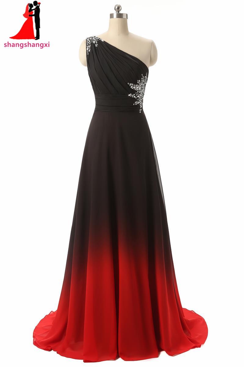 [해외]그라디언트 색상 옹이 긴 이브닝 드레스 2017 하나의 어깨 돌 플러스 사이즈 임신 공식 Vestidos 드 페스타 로브 드 Soiree/Gradient Color Ombre Long Evening Dresses 2017 One Shoulder Stones Pl