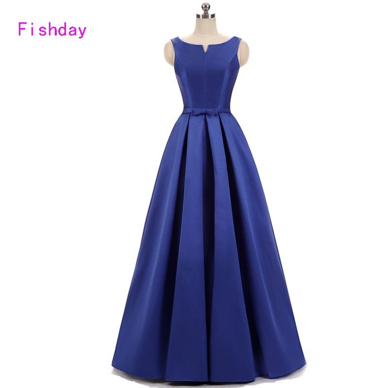 [해외]긴 새틴 라인 버터 플라이 레드 로얄 블루 이브닝 드레스 여성 우아한 공식적인  베스토 롱고의 기념 파티 가운 B30/Long Satin A line Butterfly Red Royal Blue Evening Dresses Women Elegant Formal