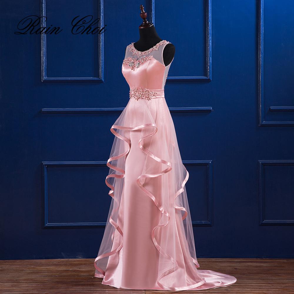 [해외]이브닝 드레스 2017 파티 드레스 오 넥 우아한 긴 정식 이브닝 드레스/Evening Dresses 2017 Party Gowns O Neck Elegant Long Formal Evening Dress