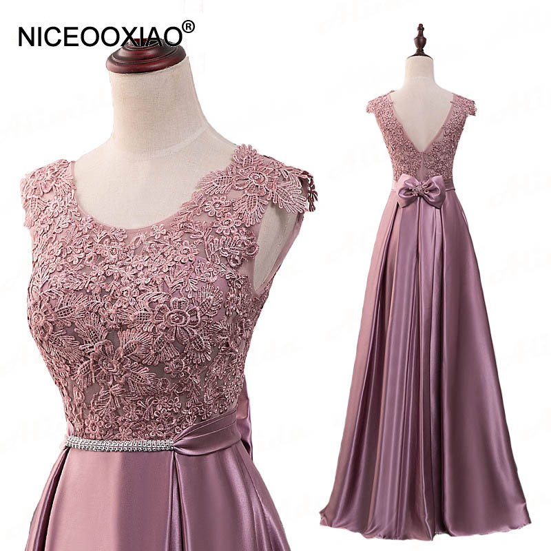 [해외]NICEOOXIAO 2018 우아한 이브닝 드레스 긴 이브닝 드레스 크리스탈 삭스 섹시한 뒷문 파티 가운 가운 드 Soiree/NICEOOXIAO 2018 Elegant Evening Dress Long  Evening Dress Crystal Sashes Se