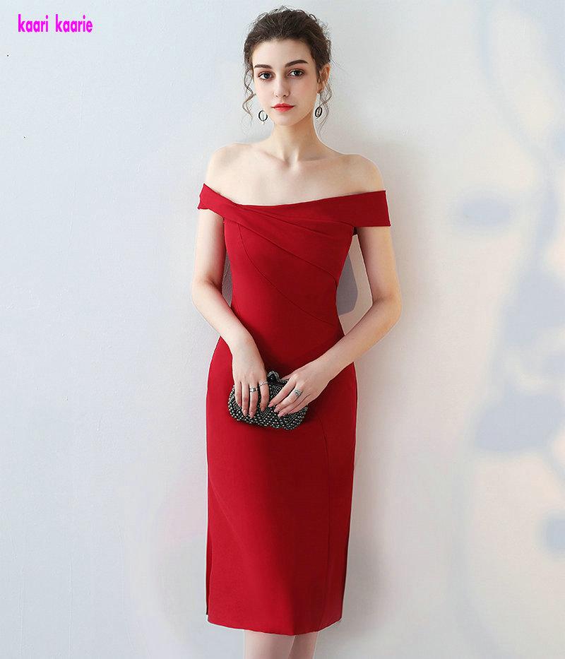 [해외]진짜 사진 레드 칵테일 드레스 2018 섹시한 Strapless 무릎 Lingth 예복 가운 짧은 칵테일 Praty 드레스 특별 행사 드레스/Real Photos Red Cocktail Dresses 2018 Sexy Strapless Knee-Lingth Pr