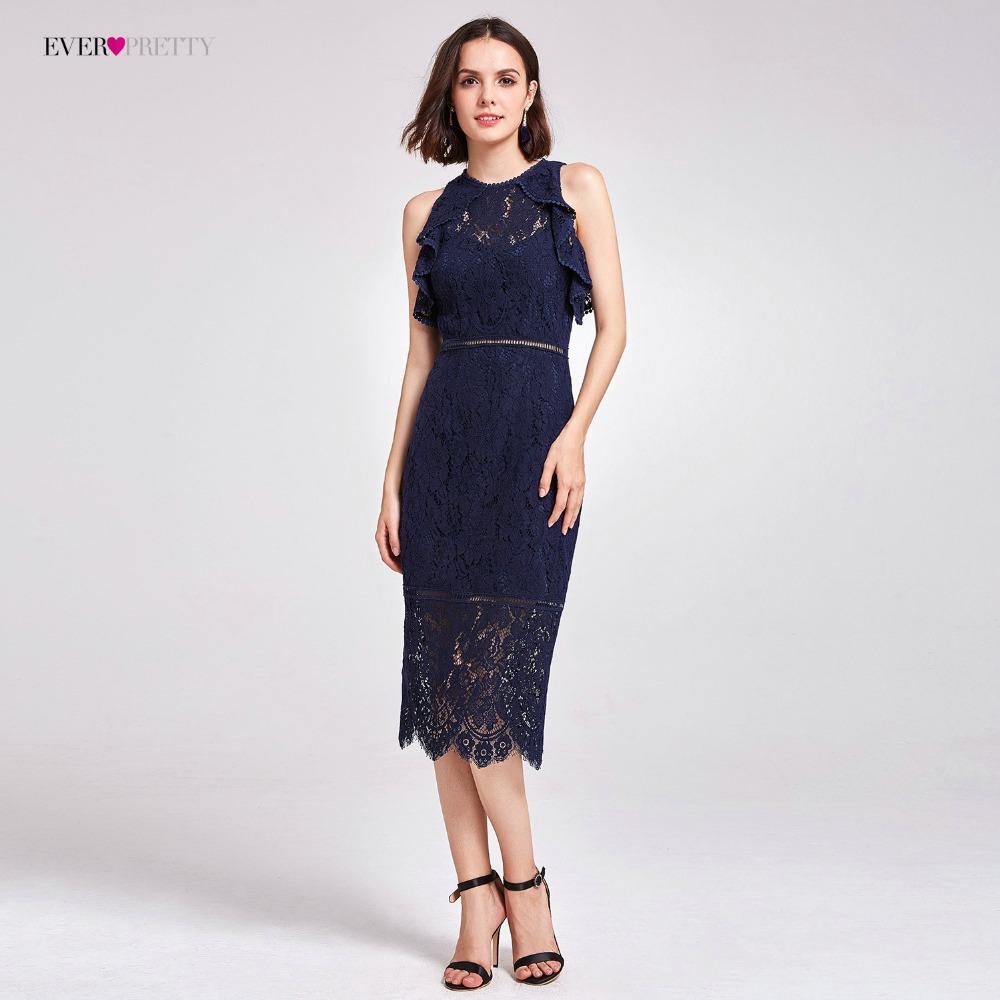 [해외]?칵테일 드레스 적 AS05920 여름 드레스 높은 허리 레이스 여성을독특한 스트레이트 최신 파티 드레스/ Cocktail Dresses Ever Pretty AS05920 Summer Dresses High Waist Lace Unique Straight Ne