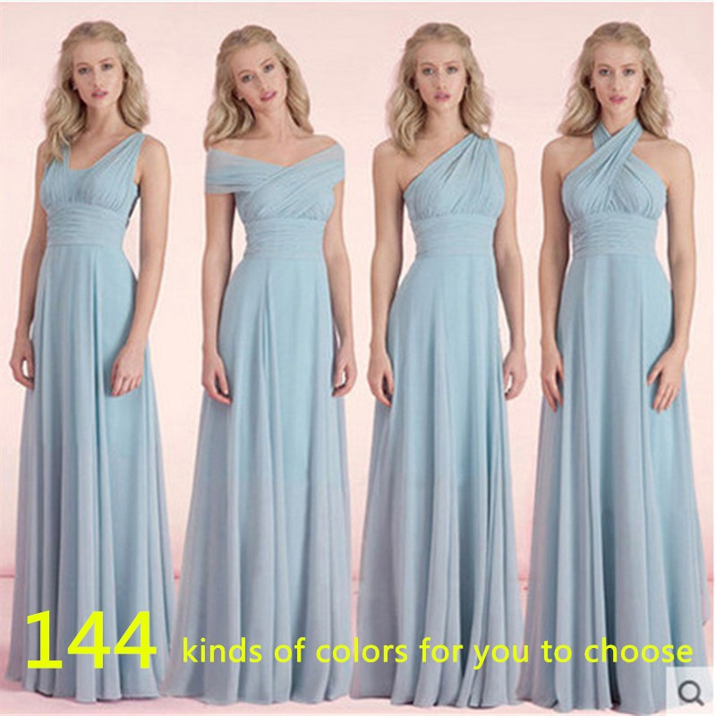 [해외]신부 들러리 드레스 쉬폰 가을 겨울 신부 들러리 드레스 저렴한 파티 드레스 페스티벌 드 카사멘토 롱 파티 드레스/New Arrival Bridesmaid Dresses Chiffon Fall Winter Bridesmaid Dress Cheap Prom Vest
