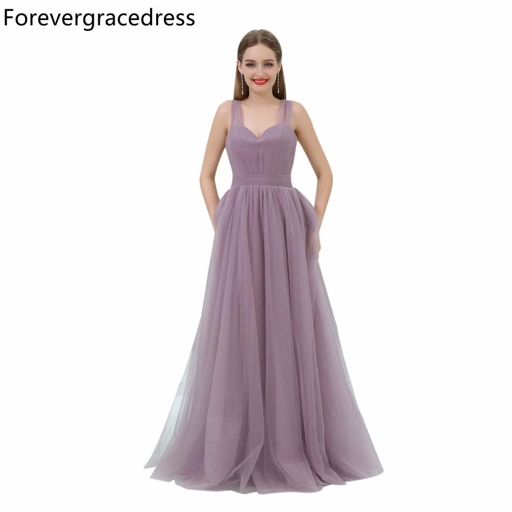 [해외]Forevergracedress 저렴한 단순 신부 들러리 드레스 민Retail 얇은 명주 그물 웨딩 파티 드레스 플러스 사이즈 맞춤 제작/Forevergracedress Cheap Simple Bridesmaid Dress New Arrival Sleeveles