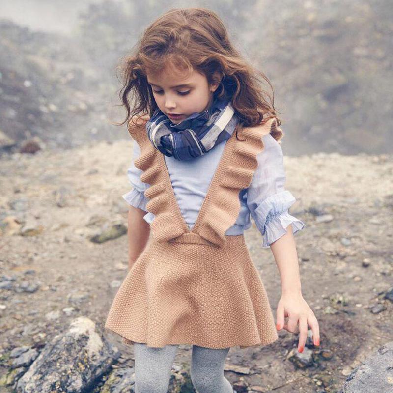 [해외]가을 2017 유아 여자 드레스 여자 의류 니트 스웨터 아이 드레스 여자 가운 fille 아이를의류 아름다운 vestidos/Autumn 2017 toddler girls dress girl clothing Knit Sweater Kids dresses for