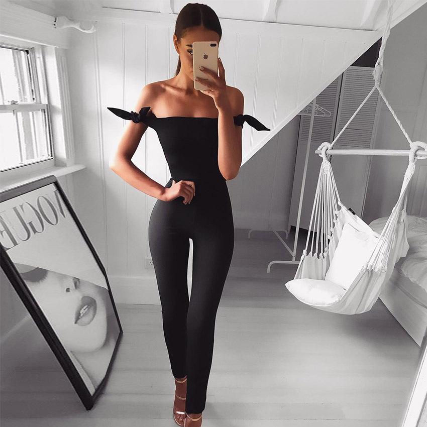 [해외]여성을체크 무늬 작업복 우아한 정장 바디 슈트 와이드 레그 팬츠 하이 웨이스트 체크 무늬 점프 슈트 Kombinezon Damski Ropa Mujer/Checkered Overalls For Women Elegant Lace Up Body Suits Wide