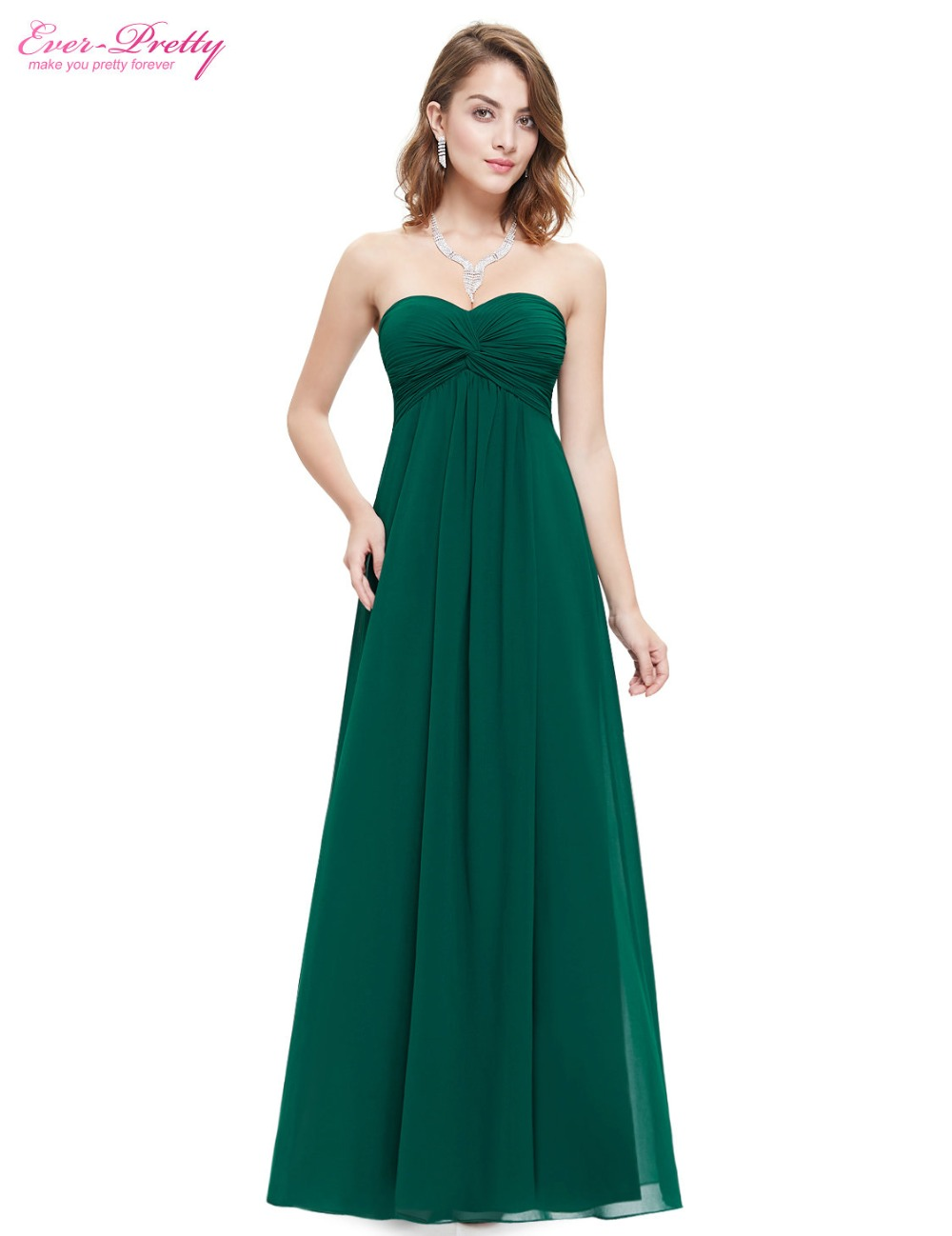 [해외]신부 들러리 드레스 2016 웨딩 파티 드레스 적이 꽤 HE08084 끈 우아한 라이트 블루 뻗 긴 신부 들러리 드레스/Bridesmaid Dresses 2016 Wedding Party Dress Ever Pretty HE08084 Strapless Elega
