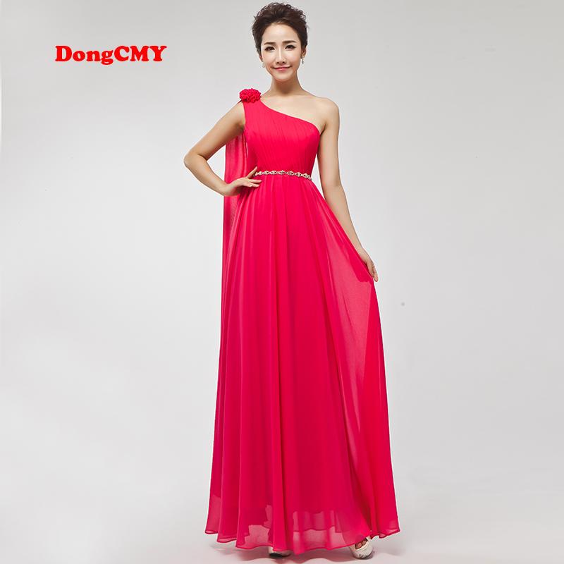 [해외]DongCMY 2017 새로운 패션 긴시 폰 들러리 드레스/DongCMY 2017 new fashion long chiffon bridesmaid dress
