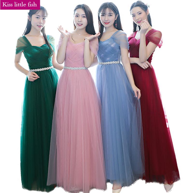 [해외]송료 무료 2018 신작 긴 신부 들러리 드레스 신부 들러리 제복 파티 드레스/Free shipping 2018 New elegant long bridesmaid dresses Bridesmaid weeding party dress