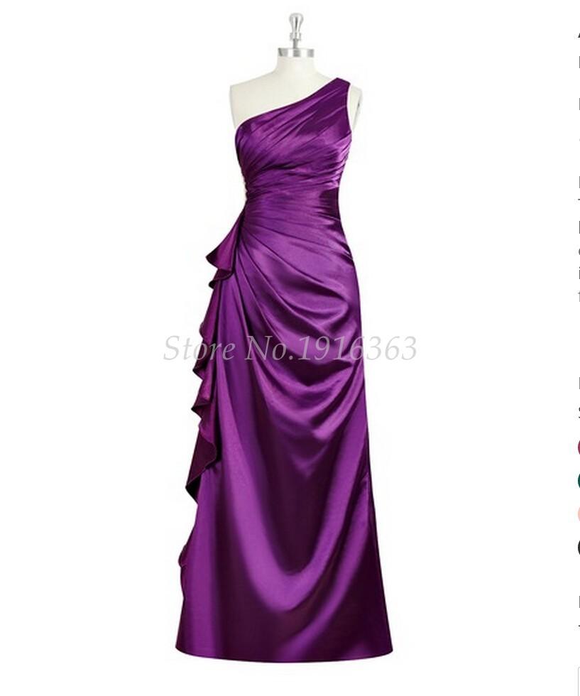 [해외]ANTI 빠른 배송 2018 자주색 들러리 드레스 플러스 플러스 크기 베스 티드 드 페스타 데 카사 멘토 긴 파티 드레스 정식 가운/ANTI Fast Shipping 2018 Purple Bridesmaid Dresses Pleat Plus Size Vestid