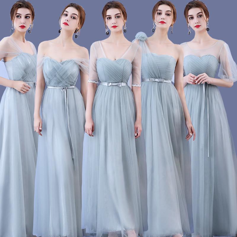 [해외]아름다움 에밀리 긴 신부 들러리 드레스 2018 그린 A 라인 fashinable 드레스 어깨 홈 커밍 웨딩 파티 댄스 파티 드레스/Beauty Emily Long Bridesmaid Dresses 2018 Green A-Line fashinable dress