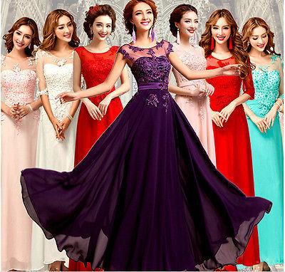 [해외]예쁜 층 길이 저렴한 2018 새로운 Hot 긴 쉬폰 신부 들러리 드레스 A 라인 공식 파티 볼 가운 댄스 파티 드레스 /Pretty Floor-Length Cheap 2018 New hot Long Chiffon Bridesmaid Dresses A-Line