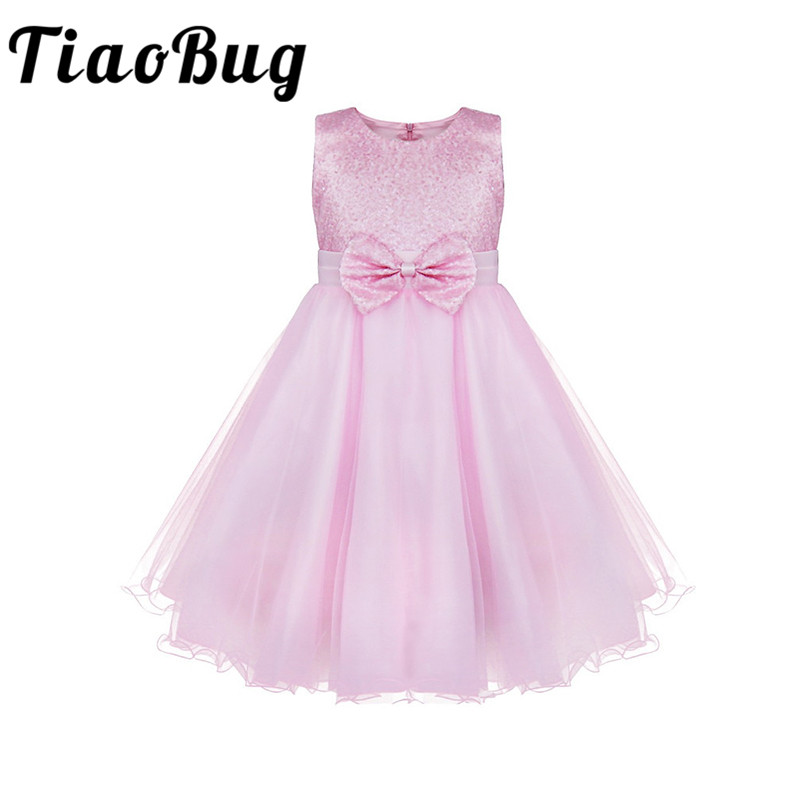 [해외]TiaoBug 어린이 유아 소녀 꽃 투투 레이스 드레스 꽃 소녀 복장 볼 가운 파티 정장 파티 및 웨딩을신부 들러리/TiaoBug Kids Infant Girls Flower Tutu Lace Dress Floral Girl Dress Ball Gown Prom
