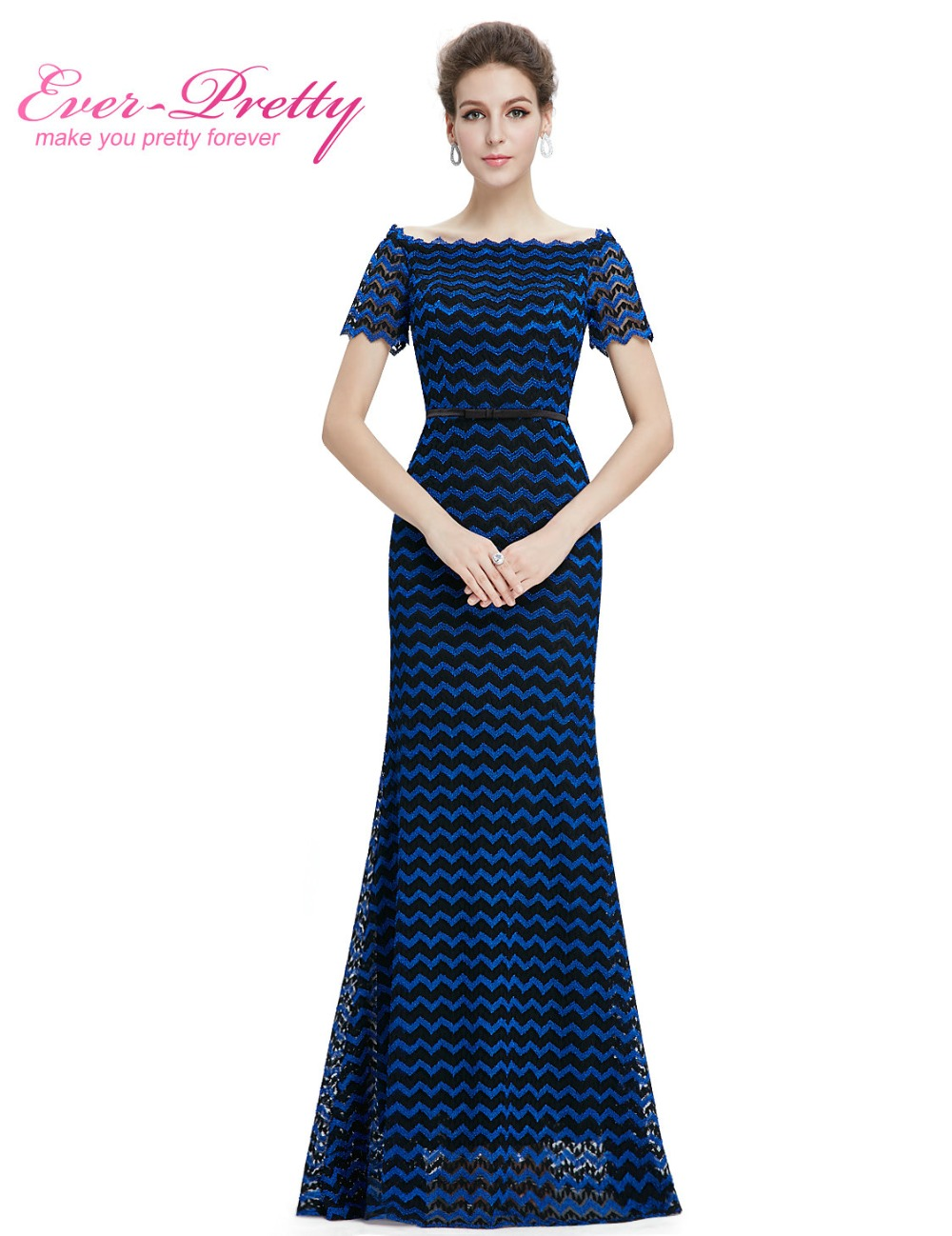 [해외]신부 파티 드레스 2016 여자 &의 우아한 짧은 Retail HE08799BB 고유 보트 V 넥 디자인 어머니/Women&s Elegant Short Sleeve HE08799BB Unique boat v-neck design Mother of the
