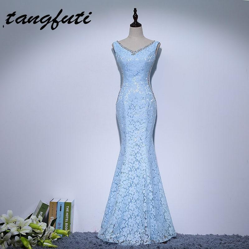 [해외]인어 긴 어머니 신부 드레스 2017 LacePearls 크리스탈 저렴 한 vestido 드 madrinha 여성 어머니 파티 드레스 가운/Mermaid Long Mother The Bride Dresses 2017 LacePearls Crystals Cheap
