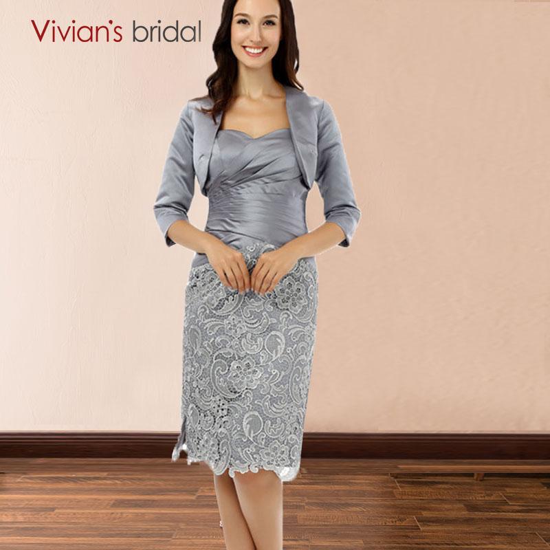 [해외]Vivian & s Bridal LaceJacket 레이스 숏 여성 복장 아가씨 목 끈 레이스 위로 신부 드레스의 어머니/Vivian&s Bridal LaceJacket Lace Short Women Dresses Sweetheart Neck Lace u