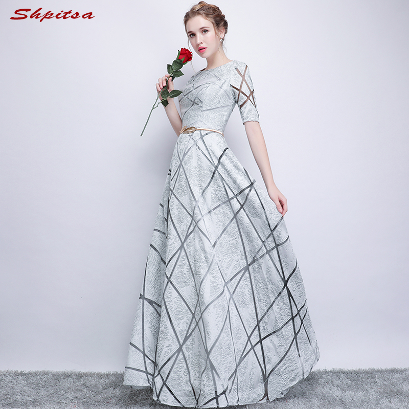 [해외]WeddingsSleeves를신부 드레스의 은빛 어머니 라인 이브닝 드레스 신랑 대모 드레스/Silver Mother of the Bride Dresses for WeddingsSleeves A Line Evening Dresses Groom Godmother