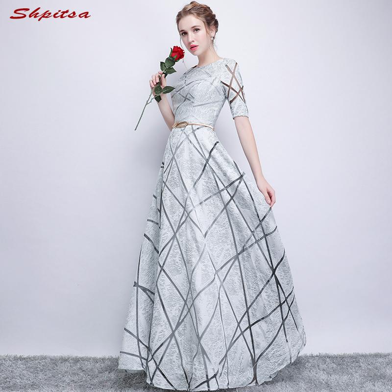 [해외]WeddingsSleeves를신부 드레스의 은빛 어머니 라인 이브닝 드레스 신랑 대모 드레스/Silver Mother of the Bride Dresses for WeddingsSleeves A Line Evening Dresses Groom Godmother
