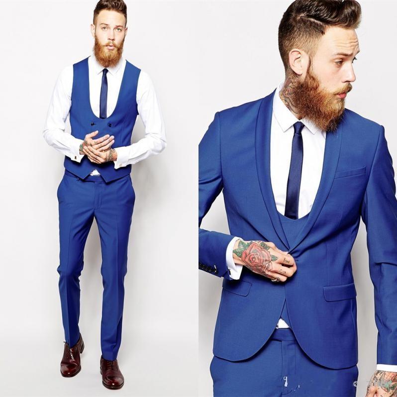 [해외]사용자 지정 클래식 블랙 저렴한 화이트 재킷 남성 댄스 파티 남성 턱시도 신랑 자켓 바지 넥타이는 신랑 턱시도 비즈니스 정장 제작/Custom Made Groom Tuxedos Business Suits Classic Black Cheap White Blazer