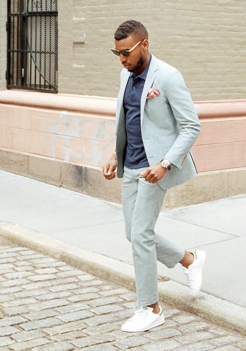 [해외]스미스 스타일 맞춤형 신랑 턱시도 신랑 들러리 옷깃 남자 2 벌 세트 정장 복 (자켓 + 바지)/Smith  Style Custom Made  Groom Tuxedos Groomsmen  Lapel Man 2 Piece Suit Set  Occasion Suit