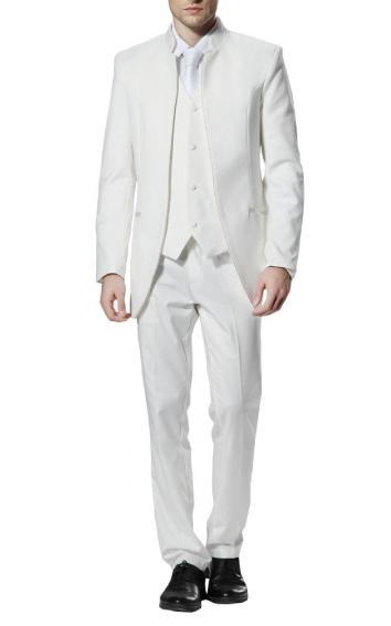 [해외]2016 맞춤 제작 새 도착 신랑 턱시도 남성 & s 정장 Groomsman Wedding / Prom Suits 유명인 복장 (자켓 + 바지 + 조끼)/2016 Custom Made New Arrival Groom Tuxedos  Men&s Suit G