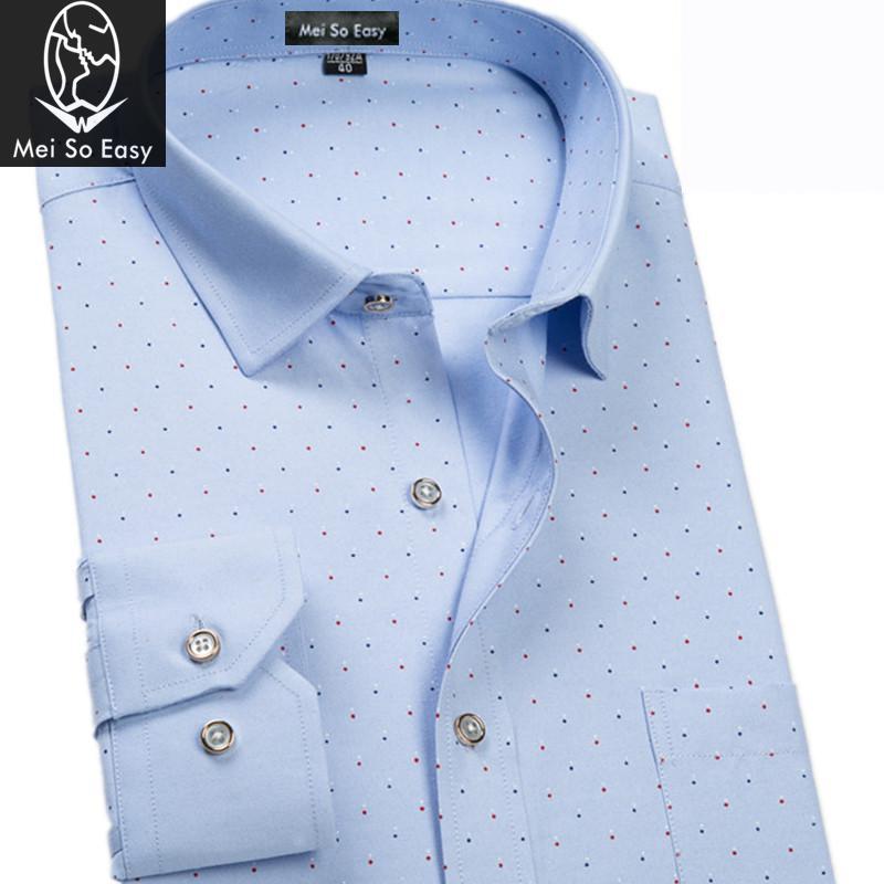 [해외]봄 가을 긴 Retail 셔츠 패션 인쇄 남성 & s의 패션 초대형 큰 폴카 도트 플러스 M L-7XL8XL9XL/new arrival Spring autumn long-sleeve shirt fashion print men&s fashion super
