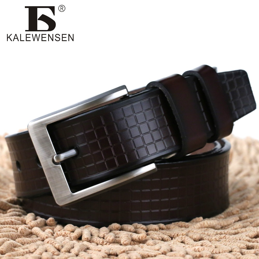 [해외]2017 암소  ??가죽 고급 스트랩 남자 벨트 2 색 cintos masculinos 플레이트 버클 4024/2017 mens cow genuine leather luxury strap male belts for men 2 colors cintos mascul