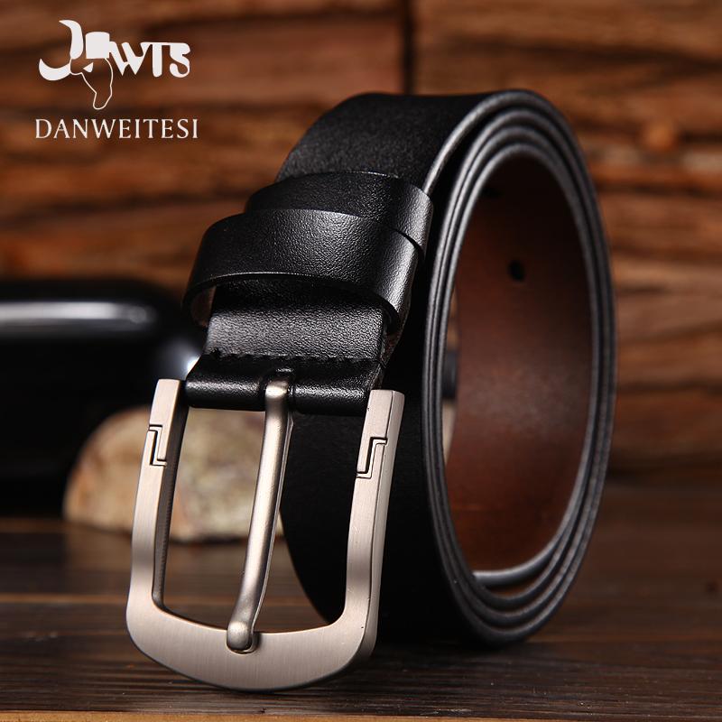 [해외][DWTS] 남자 2017 남성 벨트 가죽 고급 고급 암소  ??가죽 벨트 빈티지 핀 버클 청바지 cinto masculino/[DWTS]2017 men belt leather luxury high quality cow genuine leather belts f