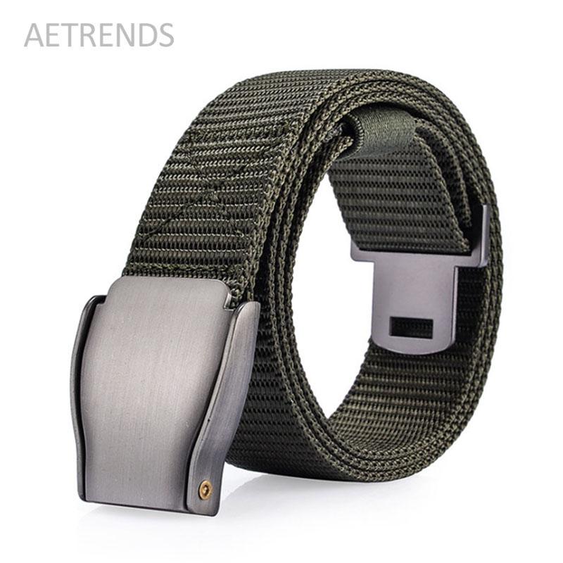 [해외][AETRENDS] 남자 & s 캔버스 벨트 W041/[AETRENDS] Men&s Canvas Belt W041