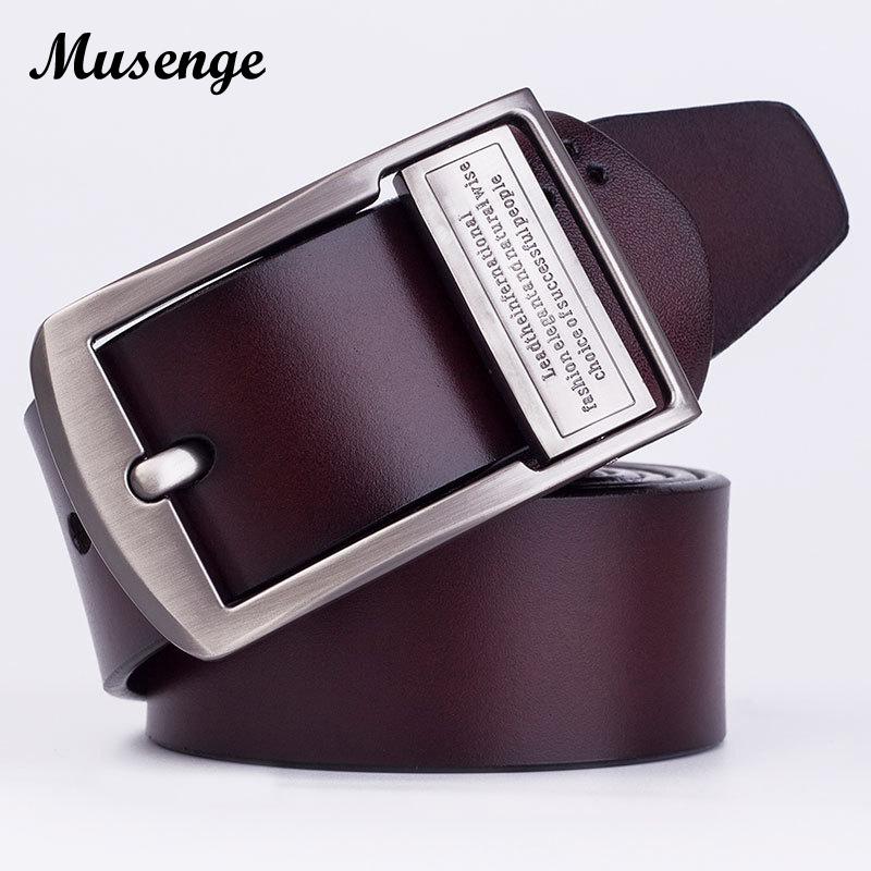 [해외]MUSENGE 가죽 벨트 남성 청바지 Cinturon Hombre Cinto Masculino Ceinture Homme Luxe Marque 카우보이 디자이너 벨트 Men/MUSENGE Leather Belt Men Jeans Cinturon Hombre Ci