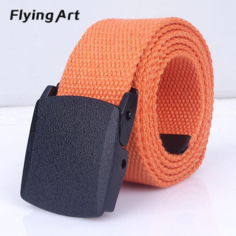 [해외]새로운 슬림 남자와 여자 캔버스 벨트 패션 POM 자동 버클 벨트 여성 남자 야외 밀리터리 팬 전술 장비/NEW Slim men and women canvas belt Fashion POM automatic buckle belt For women man Outd