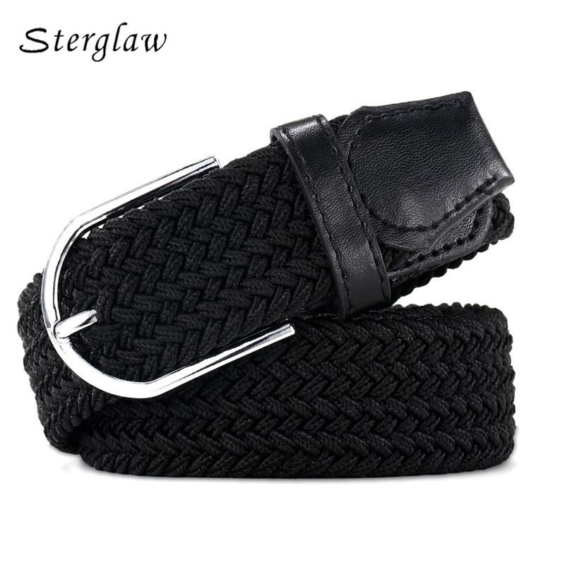 [해외]110cm 러시아 패션 캐주얼 스트레칭 짠 벨트 여성 & uniCanvas 여성용 탄성 벨트 elastique 청바지 모델링 벨트 F142/110cm Russia fashion Casual stretch woven belt Women&s uniCanvas