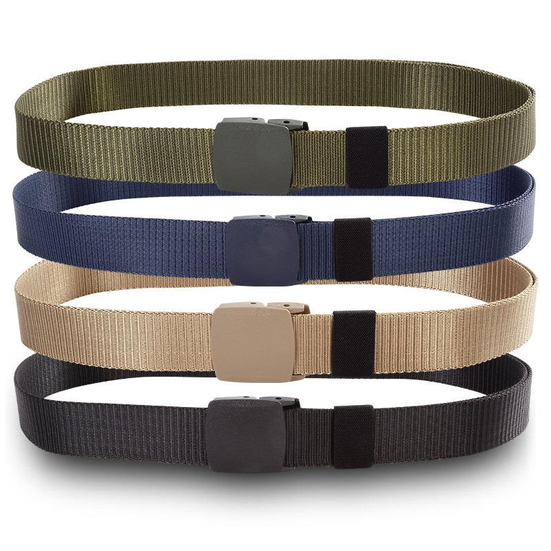 [해외]125CM 해병대 전술 벨트 밀리터리 벨트 버클 벨트 나일론 실외 스포츠 Ceinture 청바지 캐주얼 Cintos/125CM Marine Corps Tactical Belts Military Canvas Belt For Mens Buckle Belts Nylo