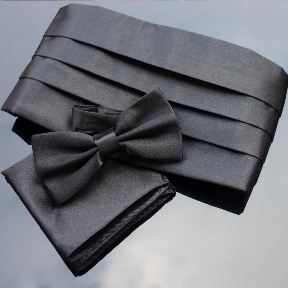 [해외]Ikepeibao 웨딩 Mens Cummerbund 세트 포켓 스퀘어 hanky Bowties Tuxedo 정식 Noeud Papillon Sash 와이드 벨트 의식 벨트/Ikepeibao Wedding Mens Cummerbund Sets Pocket Squa