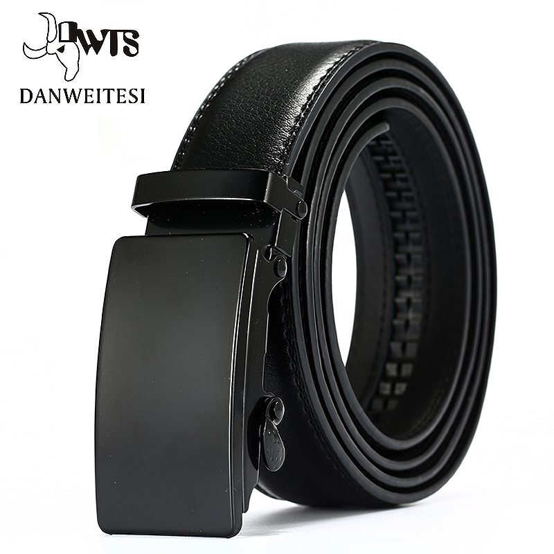 [해외][DWTS]  가죽 벨트 남성용 자동 남성 벨트 Cummerbunds 가죽 벨트 남성용 블랙 벨트 105cm - 125cm/[DWTS]Genuine Leather Belts For Men Automatic Male Belts Cummerbunds Leather
