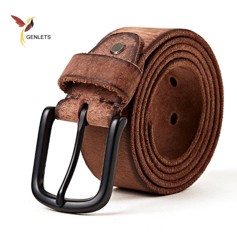[해외]새로운 고급 벨트 남성 가죽 벨트 남자 블랙  가죽 멀티 컬러 가죽 끈에 대한 진 스트랩/new Luxury belt men leather belt men black buckle jean strap for male genuine leather multi colo