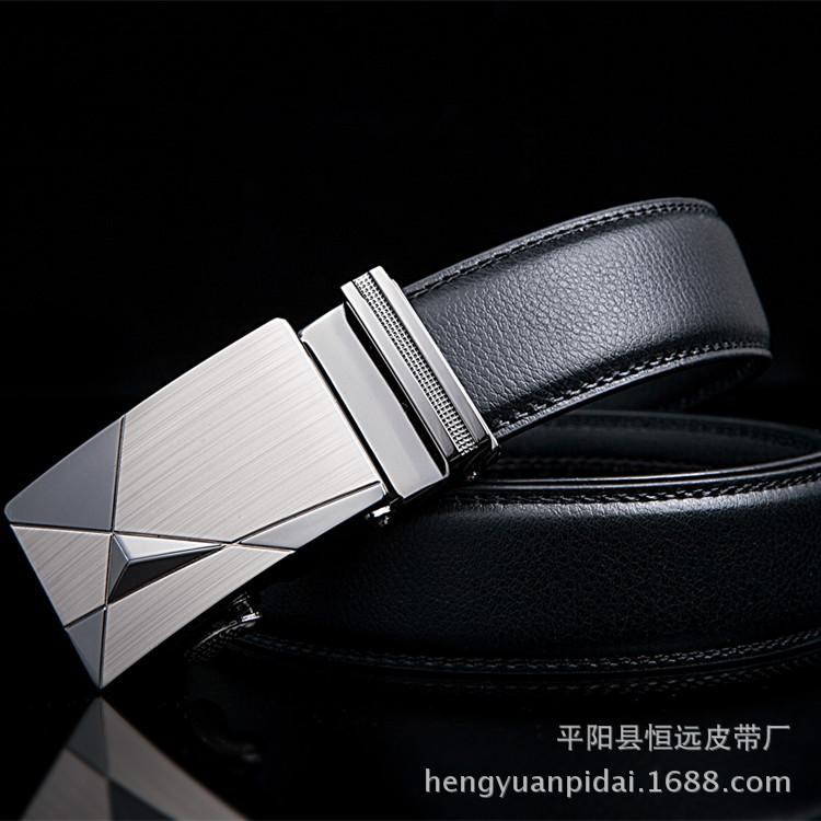 [해외]새로운 2017 비즈니스 스타일 자동 벨트 남성 고품질 최고 암소  ??가죽 럭셔리 스트랩 남성 간단한 비즈니스 브랜드 디자이너/New 2017 Business style automatic belt men high quality top cow genuine le