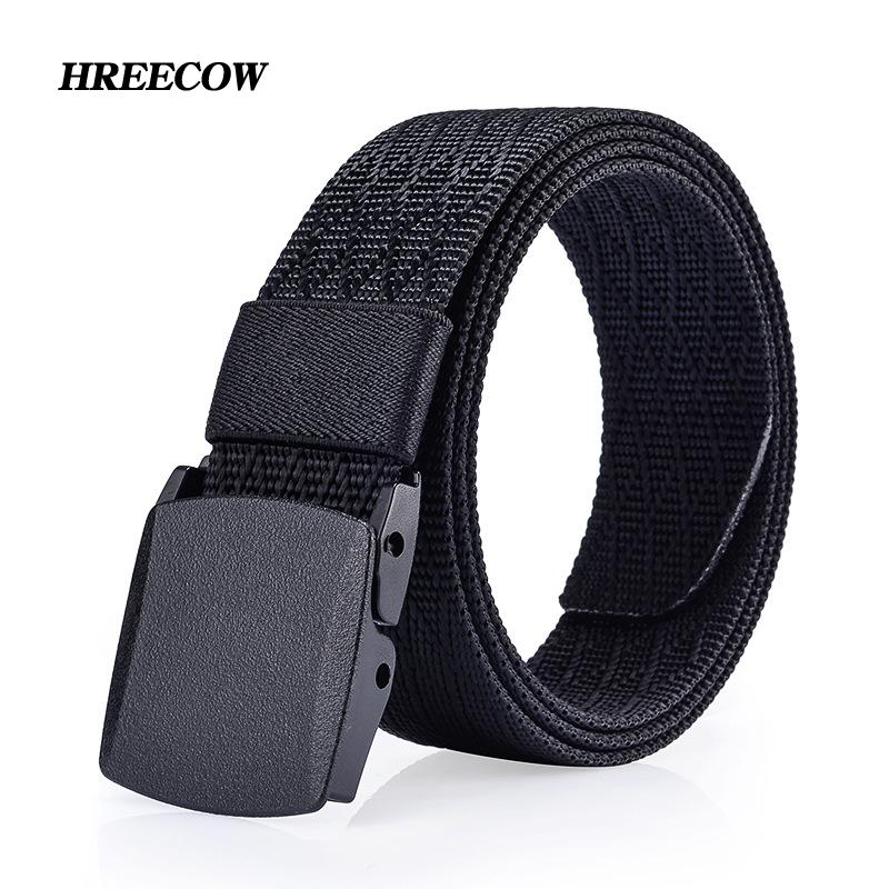 [해외]새로운 남자 & s 캔버스 벨트 아니오 금속 항 알레르기 전술 짠된 벨트 캔버스 벨트 남자 학생 캐주얼 바지 벨트 통기성 청바지/New Men&s Canvas Belt No Metal anti allergy Tactics Woven Belt Canvas