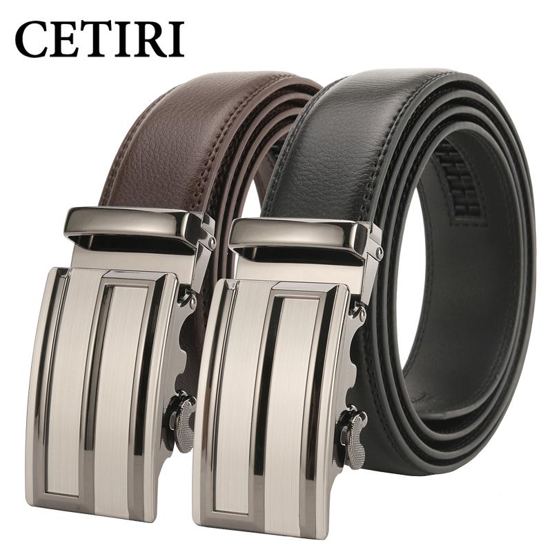 [해외]CETIRI 남자 & s 벨트 s ceinture homme 남성용  벨트 가죽 벨트 버클 벨트 버클 오토매틱 벨트 버클 120cm/CETIRI men&s belt s logo ratchet belt automatic buckle designer belt