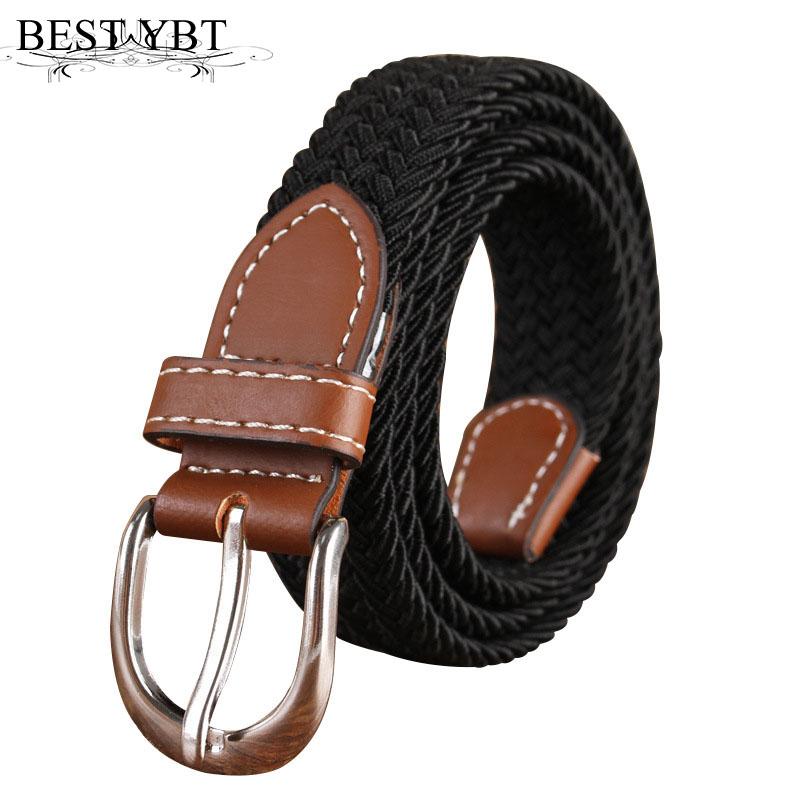 [해외]베스트 YBT Unicanvas 벨트 신축성있는 스트레치 Men & amp; 여성 니트 버클 캔버스 벨트 캐주얼 카우보이 패션 단색 남성 벨트/Best YBT Unicanvas belt Elastic stretch Men & women knitte