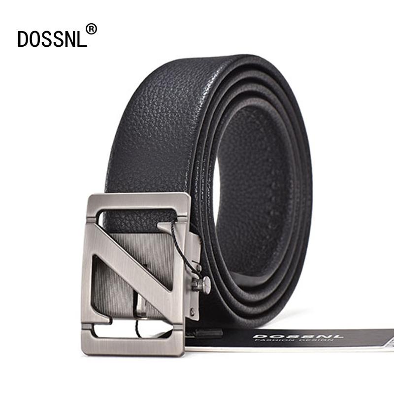 [해외]도스 뉴 새로운 남자 Cowskin 가죽 허리띠 자동 버클 패션 벨트 남자 비즈니스 인기 남성 브랜드 블랙 거들 럭셔리 A029/DOSSNL New Men Cowskin Leather Waistband Automatic Buckle Fashion Belts Me