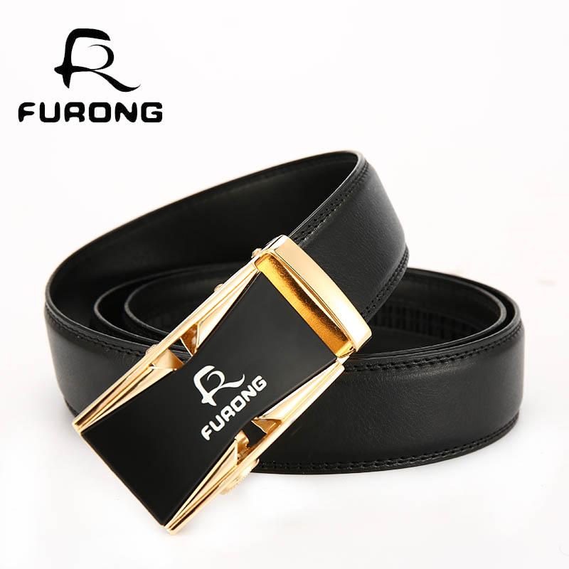 [해외]FURONG 디자이너 고급 가죽 남자 & s 벨트 비즈니스 남자 자동 벨트 100 %  럭셔리 가죽 벨트 남자/FURONG Designer Luxury Leather Men&s Belts  Business Men Automatic Belts 100% Ge