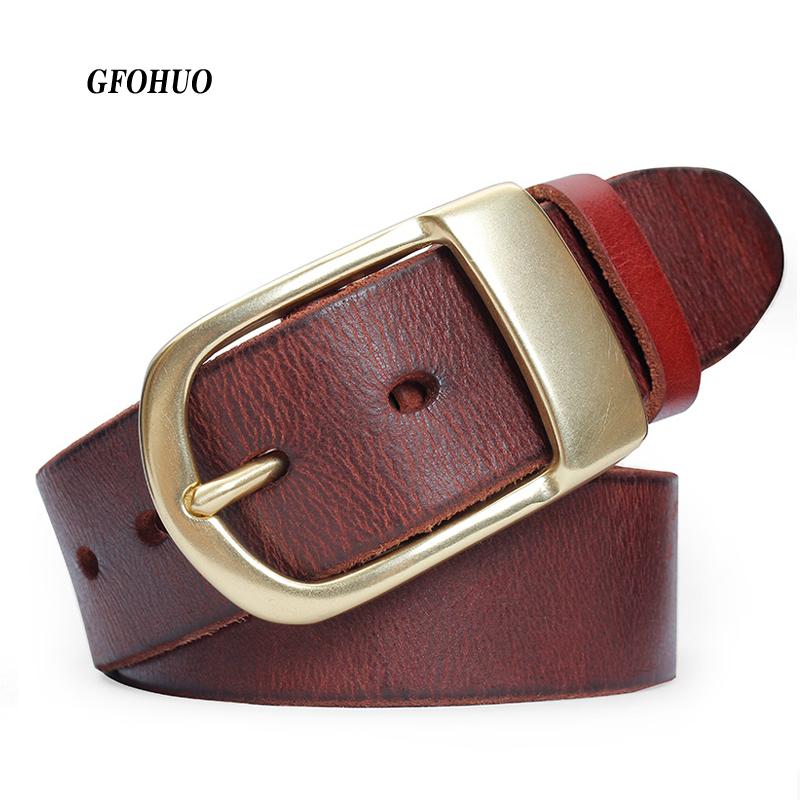 [해외]유명 브랜드 벨트 남자  럭셔리 가죽 남자 & s 비즈니스 패션 벨트 남자 소 가죽 벨트 3.8cm 너비 구리 핀 버클/Famous Brand Belt Men Genuine Luxury Leather Men&s business Fashion Belt Me