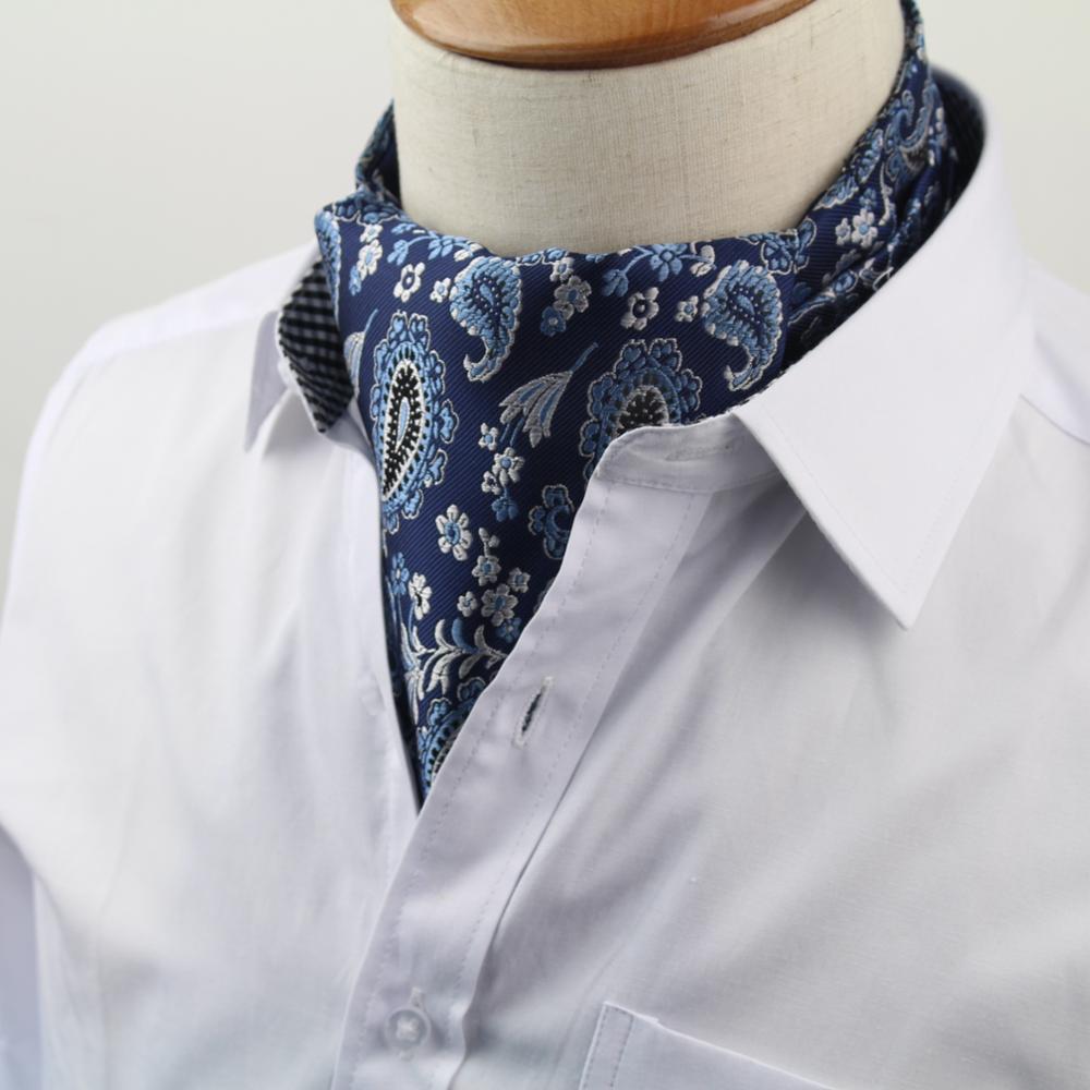 [해외]No.1-20 남자의 빈티지 넥타이 공식 크 래빗 애 스콧 스크 런치 셀프 영국 폴카 도트 신사 폴리 에스터 실크 넥 넥타이 럭셔리/No.1-20 Men&s Vintage Necktie Formal Cravat Ascot Scrunch Self British P