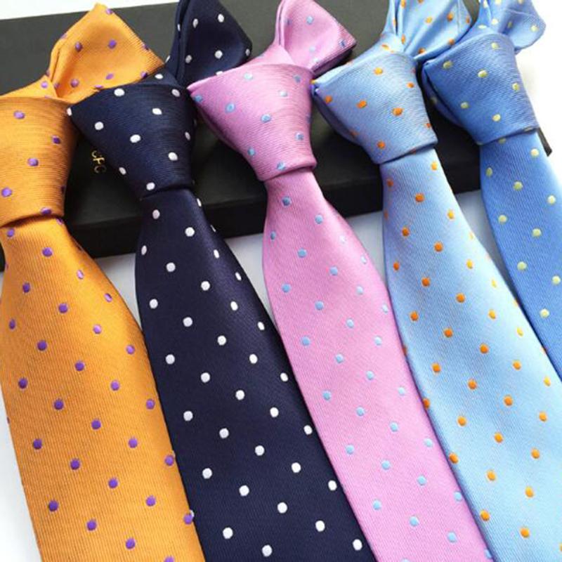 [해외]남자에 대 한 RBOCOTT 패션 블루 도트 넥타이 8cm 넥타이 레드 웨딩 넥타이 비즈니스 파티 정장 액세서리 남자 & s 클래식 관계/RBOCOTT Fashion Blue Dot Tie 8cm Necktie For Men Red Wedding Neck