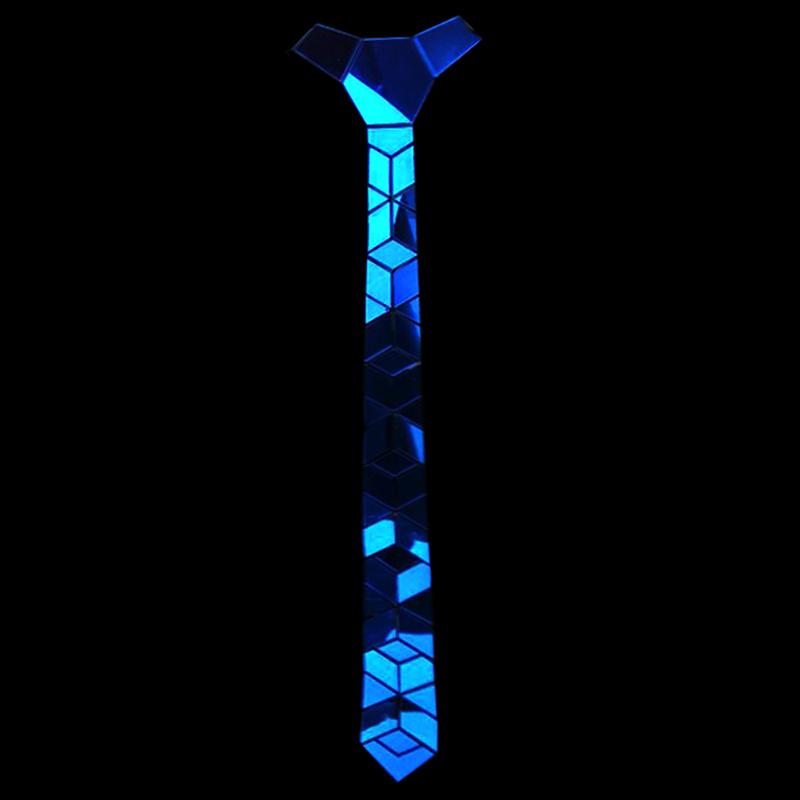 [해외]세련된 결혼식 액세서리 날카로운 시니 블루 미러 리틀 다이아몬드 모양의 넥타이 보우 타이/Fashionable Wedding Accessories Cutting-edge Shinny Blue Mirror Little Diamond Shape Necktie Bow
